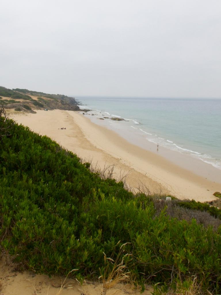 la playa del cañuelo